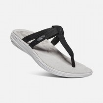 KEEN - DAMAYA FLIP W  BLACK-VAPOR - WOMEN