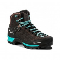 SALEWA - WS MTN TRAINER MID GTX BLACK/MAGNET/VIRIDIAN GREEN - WOMEN