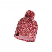 KNITTED & POLAR HAT MARGO FLAMINGO